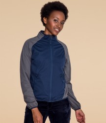 SOL'S Ladies Rollings Contrast Soft Shell Jacket image