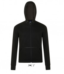 SOL'S Unisex Volt Zip Hooded Jacket image