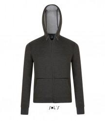 Image 4 of SOL'S Unisex Volt Zip Hooded Jacket