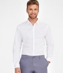 SOL'S Becker Polka Dot Long Sleeve Poplin Shirt image