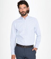 SOL'S Beverly Long Sleeve Striped Poplin Shirt image