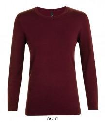 Image 3 of SOL'S Ladies Ginger Crew Neck Sweater