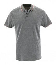 SOL'S Paname Heather Piqué Polo Shirt image