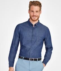 SOL'S Barry Long Sleeve Denim Shirt image
