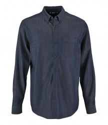 SOL'S Barry Long Sleeve Denim Shirt image