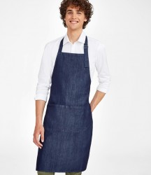 SOL'S Grant Denim Bib Apron with Pocket image
