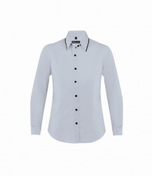 SOL'S Ladies Baxter Long Sleeve Contrast Fitted Shirt image