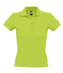 SOL'S Ladies People Cotton Piqué Polo Shirt image