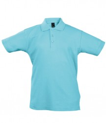 SOL'S Kids Summer II Cotton Piqué Polo Shirt image