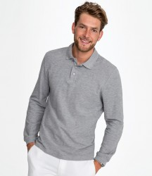 SOL'S Winter II Long Sleeve Cotton Piqué Polo Shirt image