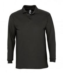 SOL'S Winter II Long Sleeve Cotton Piqué Polo Shirt image