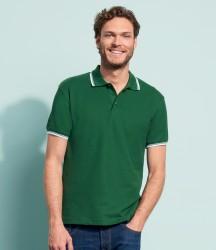 SOL'S Practice Tipped Cotton Piqué Polo Shirt image