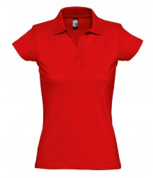 Image 4 of SOL'S Ladies Prescott Cotton Jersey Polo Shirt