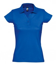Image 3 of SOL'S Ladies Prescott Cotton Jersey Polo Shirt