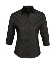 SOL'S Ladies Effect 3/4 Sleeve Fitted Shirt image