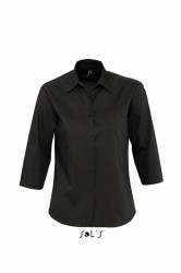 SOL'S Ladies Eternity 3/4 Sleeve Poplin Shirt image