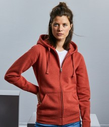 Russell Ladies Authentic Melange Zip Hoodie image
