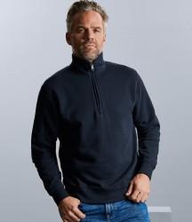 Russell Authentic Zip Neck Sweatshirt image