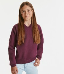 Jerzees Schoolgear Kids V Neck Sweatshirt image