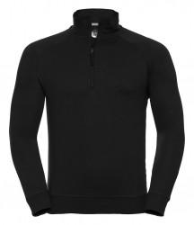 Russell HD Zip Neck Sweatshirt image