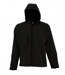 SOL'S Replay Hooded Soft Shell Jacket image