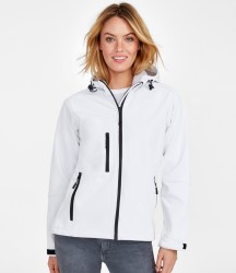 SOL'S Ladies Replay Hooded Soft Shell Jacket image