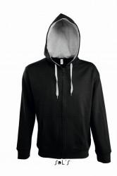 SOL'S Soul Contrast Hooded Jacket image