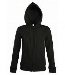 SOL'S Ladies Seven Zip Hooded Sweatshirt image