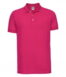 Russell Stretch Piqué Polo Shirt image