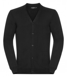 Russell Cotton Acrylic V Neck Cardigan image