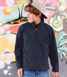 Jerzees Schoolgear Kids Zip Neck Outdoor Fleece image