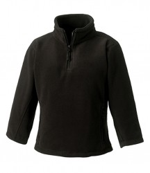 Jerzees Schoolgear Kids Zip Neck Outdoor Fleece image