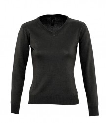 SOL'S Ladies Galaxy Cotton Acrylic V Neck Sweater image