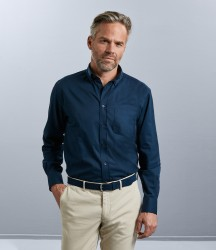 Russell Collection Long Sleeve Classic Twill Shirt image