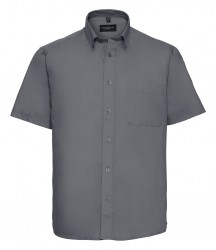 Russell Collection Short Sleeve Classic Twill Shirt image