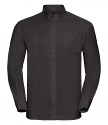 Image 6 of Russell Collection Long Sleeve Easy Care Oxford Shirt
