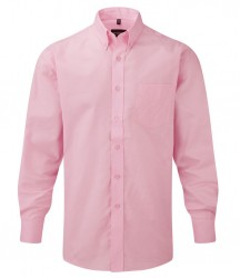 Image 5 of Russell Collection Long Sleeve Easy Care Oxford Shirt