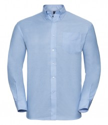 Image 4 of Russell Collection Long Sleeve Easy Care Oxford Shirt