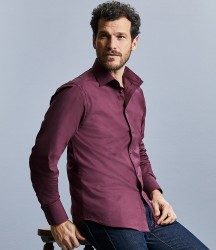 Russell Collection Long Sleeve Easy Care Fitted Shirt image