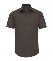 Russell Collection Short Sleeve Easy Care Fitted Shirt image