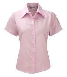 Russell Collection Ladies Short Sleeve Ultimate Non-Iron Shirt image