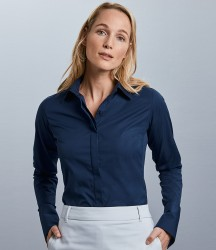 Russell Collection Ladies Ultimate Stretch Shirt image