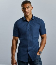 Russell Collection Ultimate Short Sleeve Stretch Shirt image