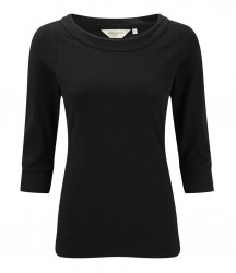 Russell Collection Ladies 3/4 Sleeve Stretch Top image