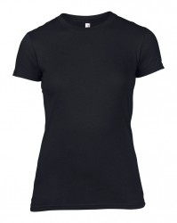 Image 1 of Anvil Ladies Lightweight Fitted T-Shirt