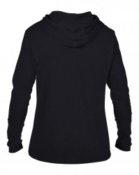 Image 1 of Anvil Lightweight Long Sleeve Hooded T-Shirt