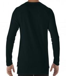 Image 1 of Anvil Unisex Lightweight Long Sleeve Long & Lean T-Shirt