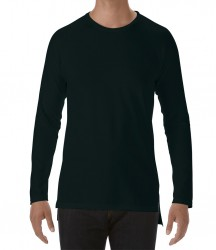 Image 2 of Anvil Unisex Lightweight Long Sleeve Long & Lean T-Shirt