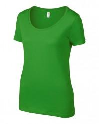 Image 2 of Anvil Ladies Featherweight Scoop Neck T-Shirt