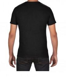 Image 1 of Anvil Tri-Blend V Neck T-Shirt
